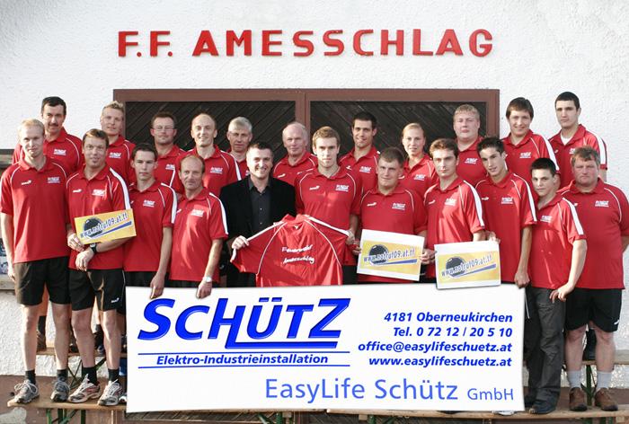 Die aktiven Mitglieder der FF Amesschlag